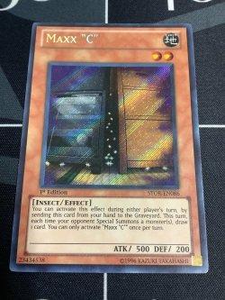 """画像1: Maxx """"C"""" 1st  Secret Rare STOR-EN086 1st ed  (英語版 増殖するG)【実物写真】"""